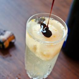 Grapefruit-Champagne Float Recipe
