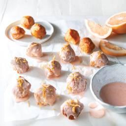 Grapefruit Doughnut Holes