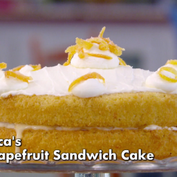 Grapefruit Sandwich Cake