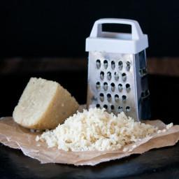 Grateable Vegan Parmesan Cheese