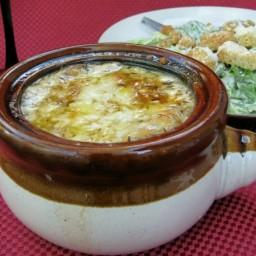 Gratineed Onion Soup Recipe