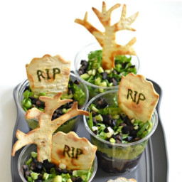 Graveyard Taco Cups