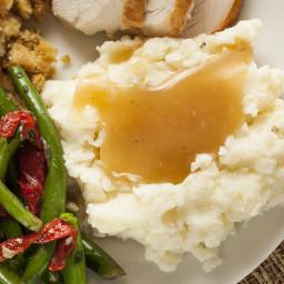 Gravy for the Big Oven Thanksgiving Turkey