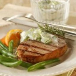 Grecian Goddess Grilled Chops