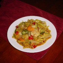 Greebocat's Deluxe Seafood Stirfry