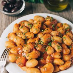 Greek Butter Beans Recipe