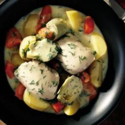Greek Chicken and Vegetable Ragout