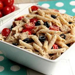 Greek Dill-Light Pasta Salad