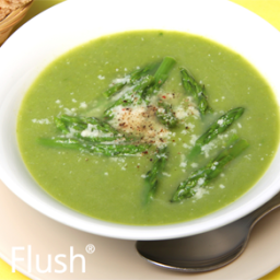 Greek Lamb and Asparagus Soup