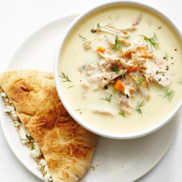Greek Lemon Chicken Soup