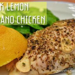 Greek Lemon Oregano Chicken