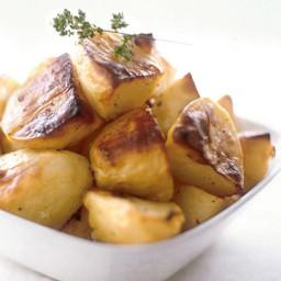 Greek Lemon-Roasted Potatoes