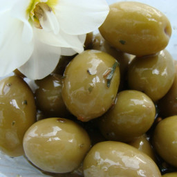 Greek Marinated Olives