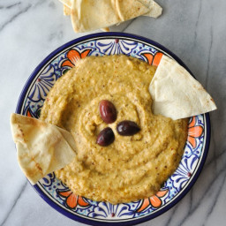 Greek Roasted Eggplant Dip (Melitzanosalata)