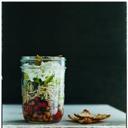 Greek Salad with Orzo and Black-Eyed Peas