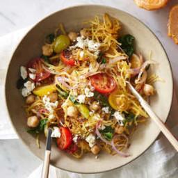 Greek Spaghetti Squash Toss
