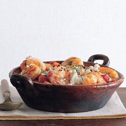 Greek Style Baked Shrimp