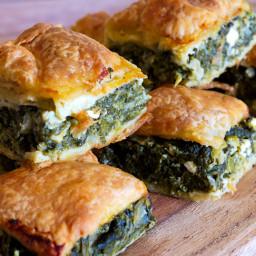 Greek Spinach and Feta Pie (Spanakopita)