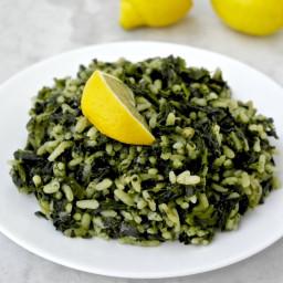Greek Spinach and Rice – Spanakokorizo