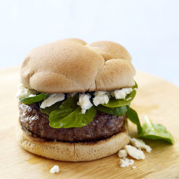 Greek-style cheeseburgers
