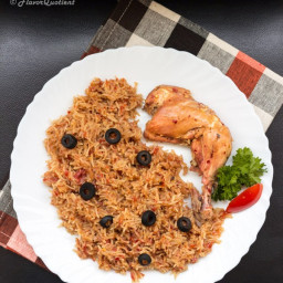 Greek Tomato Rice with Chicken