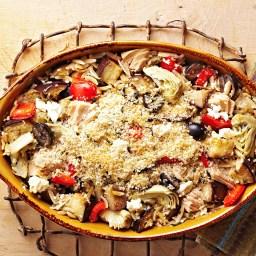 Greek Tuna Casserole