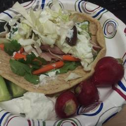 Greek Turkey Pita - (3 Smart Points)