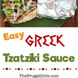 Greek Tzatziki Sauce Recipe