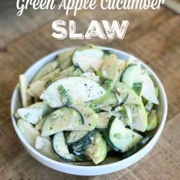 Green Apple Cucumber Slaw
