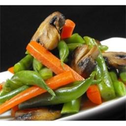 Green Bean and Mushroom Medley