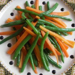 Green Beans & Carrot Batons