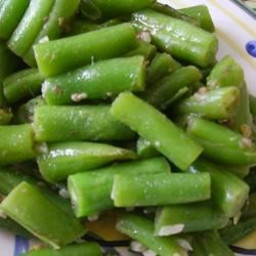Green Beans with Anchovies Recipe