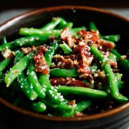 Green Beans With Honey-Pecan Butter