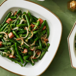 Green Beans With Smoked Ham