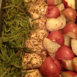 Green Beans,Chicken breasts and Red Skin Potatoes