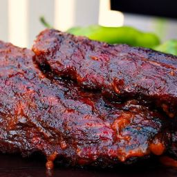 Green Chile BBQ Sauce and Dry Rub