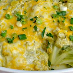 Green Chile Cabbage Enchiladas Recipe