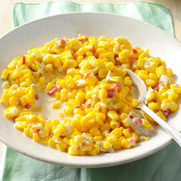 Green Chili Creamed Corn