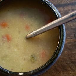 Green Chili Potato Soup