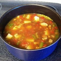 Green Chili Stew (caldillo)
