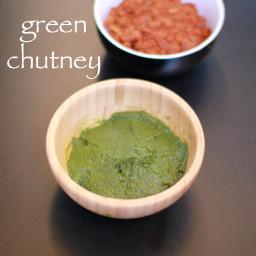 green chutney recipe | green chutney for chaat recipe