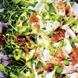 Green Goddess Cobb Salad