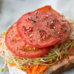 Green Goddess Veggie Sandwich