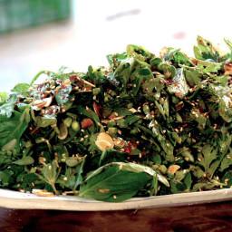Green herb salad