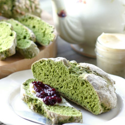 Green Irish Soda Bread