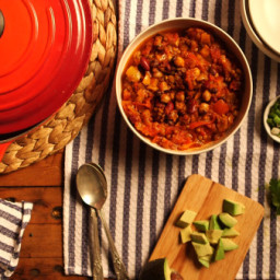 Green Lentil Chili Recipe