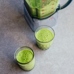 Green Mango Smoothie (Raw Vegan)