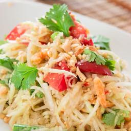 Green Papaya Salad (Som Tam)