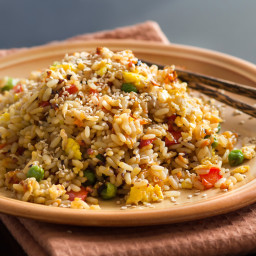 Green Pea Rice Pilaf (Vegan)