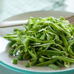Green Pea Salad with Orange Blossom Honey